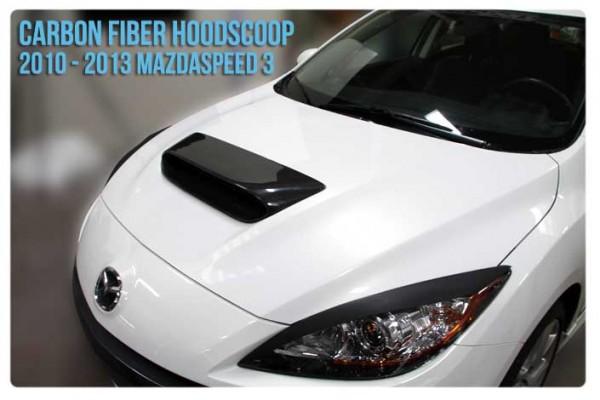 Corksport Mazda 3mps Mk2 Bonnet Hood Scoop