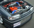 Forge Front Mount Alloy Intercooler & Full Pipe Run for Nissan Sunny Pulsar GTi-R