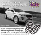 KW Lowering Springs for Land Rover Range Rover Evoque 4WD