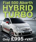 Hybrid Turbo Stage 1 for Fiat 500 1.4T Abarth 200BHP