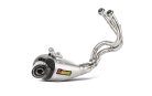 Akrapovic Racing Line Titanium Exhaust for Kawasaki Z750 Ninja 750 2017+