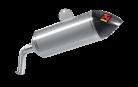 Akrapovic Slip-On Line Titanium Exhaust for Yamaha XT1200Z