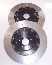 Alcon 400mm Front Brake Discs upgrade kit for Nissan GTR R35