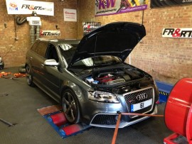 Audi RS3 2.5TFSI 340HP Remap Session