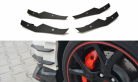 Front Bumper Canards for Honda Civic Type R Fk2
