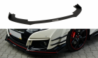 Front Bumper Racing Splitter v2 for Honda Civic Type R Fk2