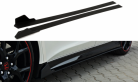 Side Skirts Racing Diffusers for Honda Civic Type R Fk2