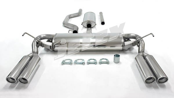 Jetex Vauxhall Vectra C Cat Back Exhaust Quad Tailpipes
