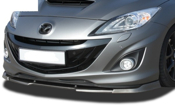 mazda 3 mps mk2 front bumper splitter fr r tuning maha. Black Bedroom Furniture Sets. Home Design Ideas