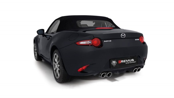 Remus Racing Cat-Back Exhaust for Mazda MX-5 ND 2.0i Skyactive G-160 - FR&R Tuning| MAHA Dyno