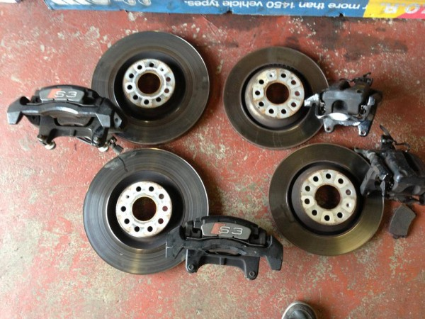 Audi S3 Vw R32 Seat Leon Cupra 345mm Brake Kit Front