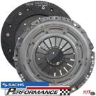 Sachs Race Clutch Kit Disc and Cover Plate 500nm for VAG 1.8T 240mm 23teeth