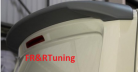 VW Transporter T6 Rear Tailgate Spoiler Primed