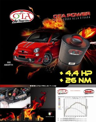 Bmc Ota Induction Kit For Fiat 500 Abarth Otasp 01 Fr Amp R