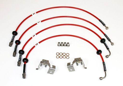 Forge Brake Hoses For Vauxhall Astra J Vxr
