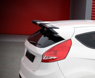 Rear Spoiler Extension For Ford Fiesta Mk7 Fr Amp R Tuning