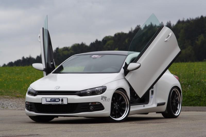 Lsd Lamborghini Style Doors Door Hinges For Vw Scirocco Fr Amp R Tuning Maha Dyno Rolling Road
