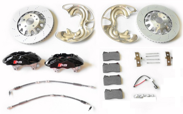 Audi RS3 TT RS Front Brake kit, Calipers, Carriers, Discs
