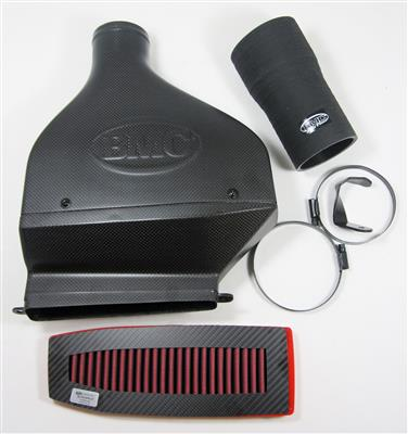 bmc carbon racing air filter kit for vw golf mk6 gti, scirocco, audi