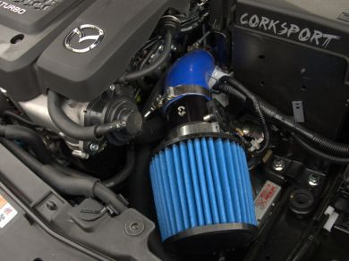 corksport power series mazda  mps  intake system frr tuning maha dyno rolling road