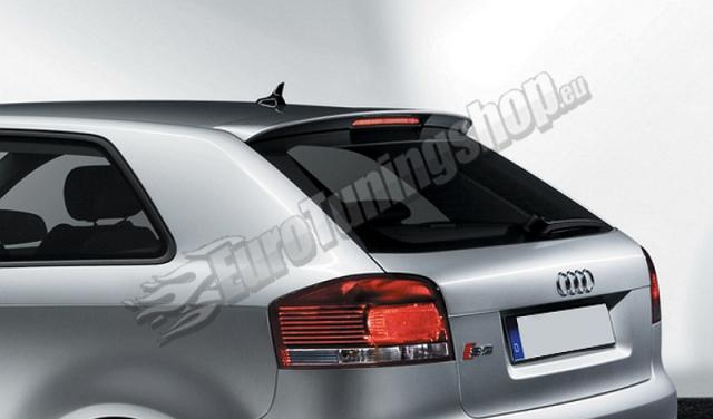 audi a3 8p 3dr s3 look rear boot spoiler fr r tuning. Black Bedroom Furniture Sets. Home Design Ideas