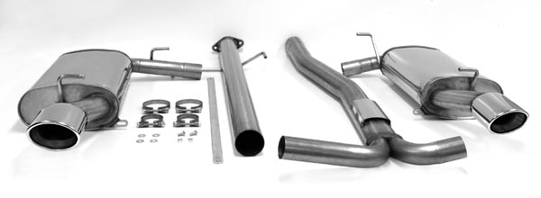 Jetex Catback Duplex Nonresonated Exhaust For Mazda 6 Mps 23t: 2004 Mazda 6 Cat Back Exhaust At Woreks.co