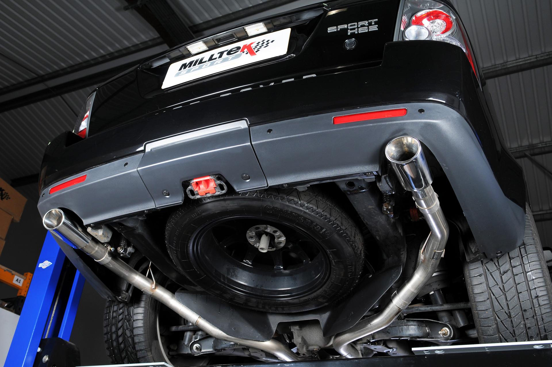 Milltek Land Rover Range Rover Sport 3 0 Tdv6 Cat Back