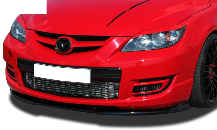 mazda 3 mps mk1 front bumper splitter fr r tuning maha. Black Bedroom Furniture Sets. Home Design Ideas