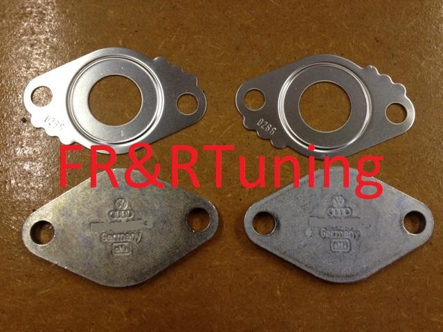 audi vw 1.9tdi 2.0tdi genuine egr blanking plates - fr&r tuning
